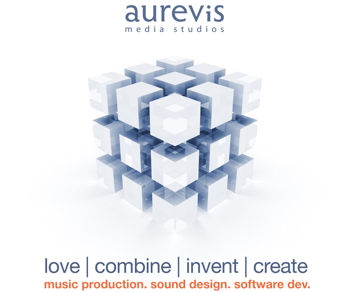 aurevis media studios - love | combine | invent | create - music production. sound design. software dev.